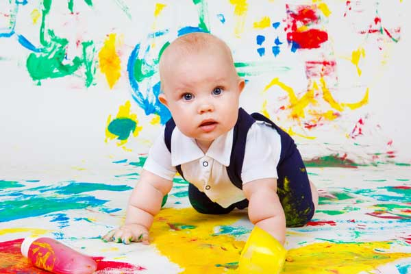 GymbaROO article - Finger Painting