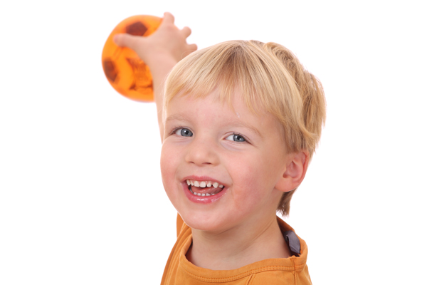 GymbaROO babyROO article: When will my baby / toddler become right- or left-handed?