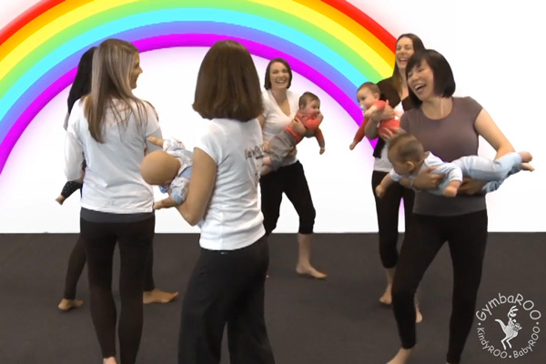 Dancing. Gymbaroo. Active Babies Smart KIds