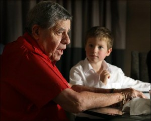 Lochlan with Jerry Lewis