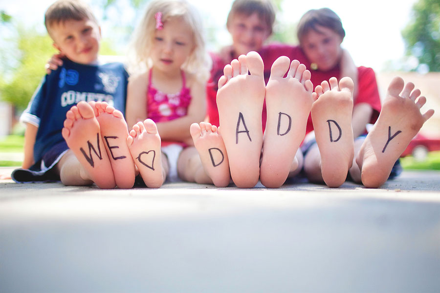 Father's Day craft ideas GymbaROO BabyROO article