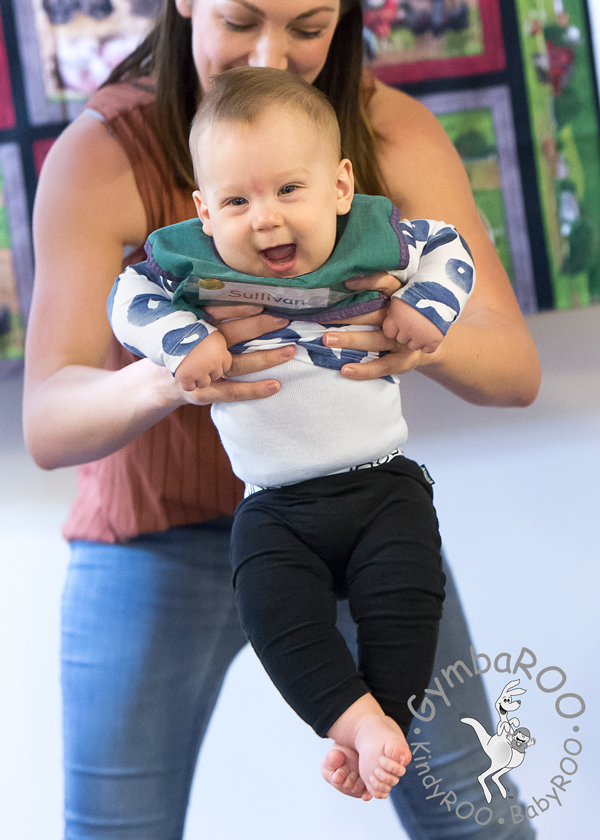 Why developing your baby's balance is SO important: Vestibular development. GymbaROO BabyROO