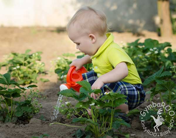 How children benefit from doing chores! GymbaROO BabyROO