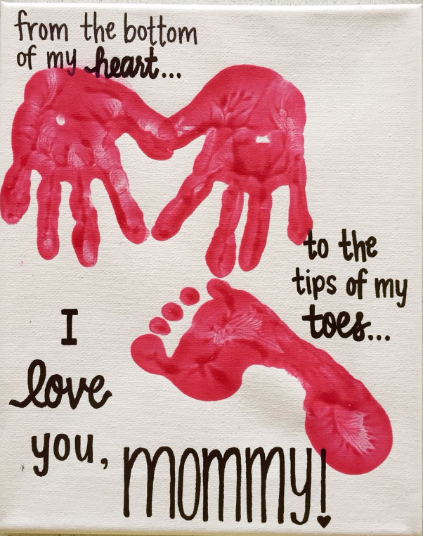 Mother's Day Craft GymbaROO BabyROO