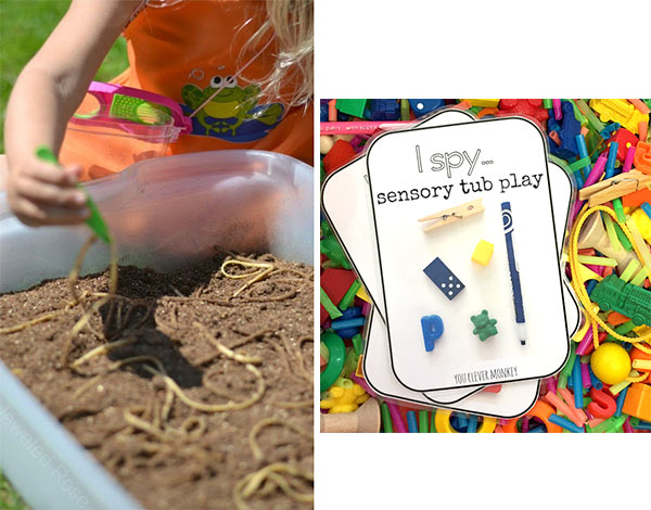 Sensory tubs for babies – 5 year olds: Why and how GymbaROO and BabyROO