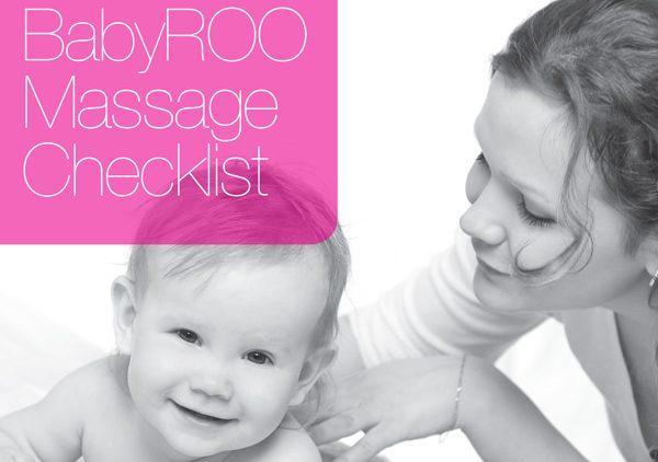 Baby massage checklist: Before you start