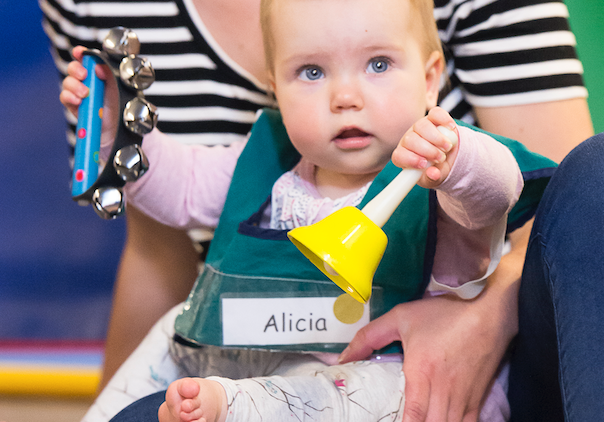 Musical activities for babies. Why and how