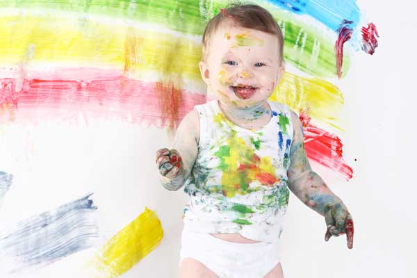Finger Painting A Brilliant Activity For Babies And Toddlers Active Babies Smart Kids