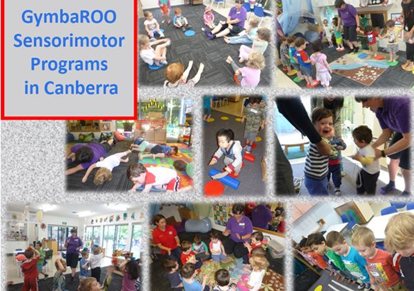 GymbaROO sensory-motor programs in childcare centres in Canberra