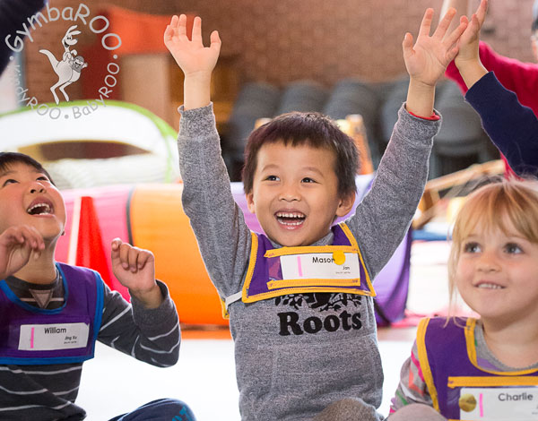 Why GymbaROO-KindyROO kids excel socially and in leadership roles