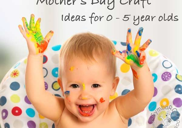 Mother's Day craft: Ideas to do with 0 – 5 year olds