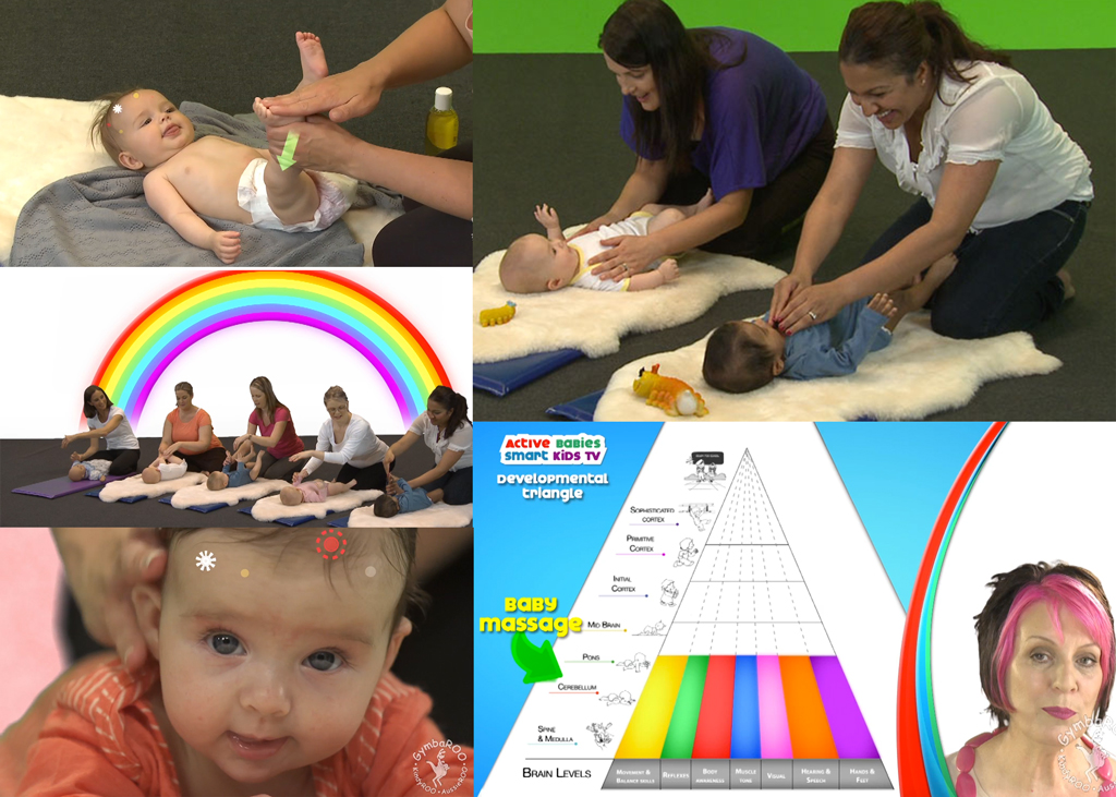 Baby Massage. GymbaROO. Active Babies Smart Kids